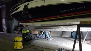 Bootslagerung und Bootspflege in Schmöckwitz