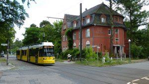 Tram 68 Richtung Berlin-Köpenick