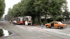 Uferbahn & Werkstattwagen ander Vetschauer Allee
