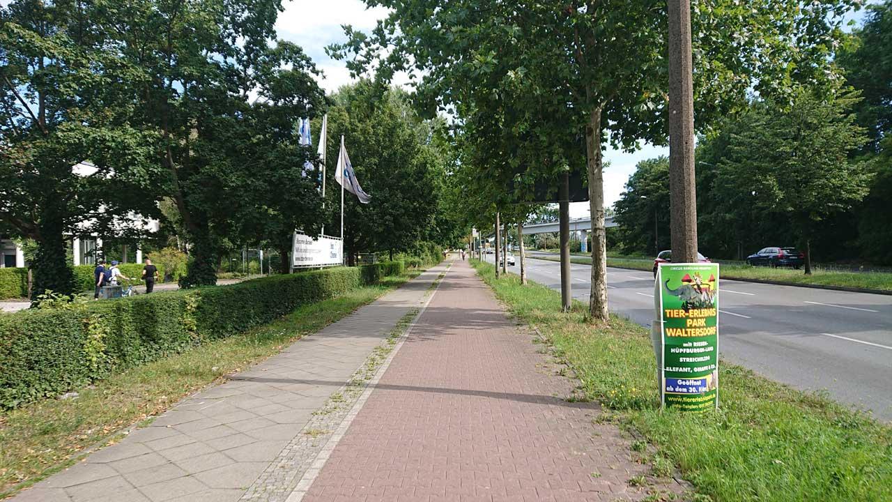 Radwege ins Grüne - Adlergestell