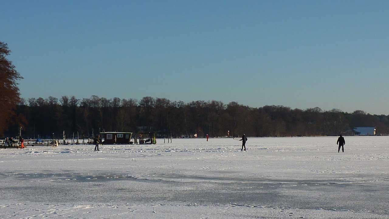 Schmöckwitz im Winter